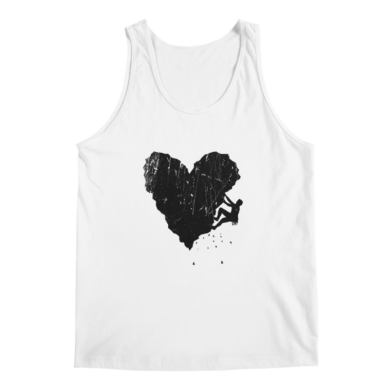 Peak of love Men's Regular Tank by barmalisiRTB