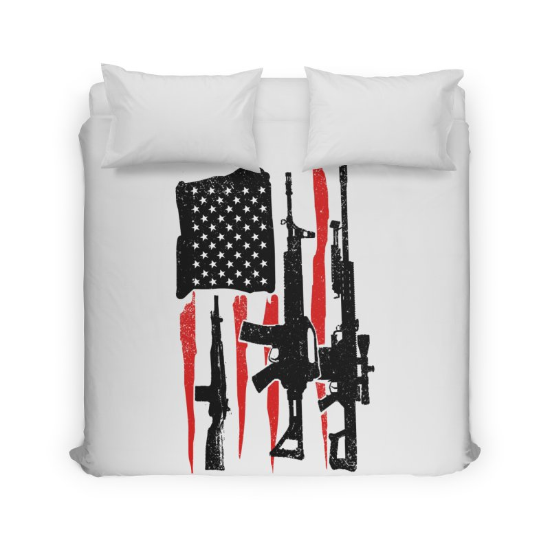 American Hero Flag Home Duvet by barmalisiRTB