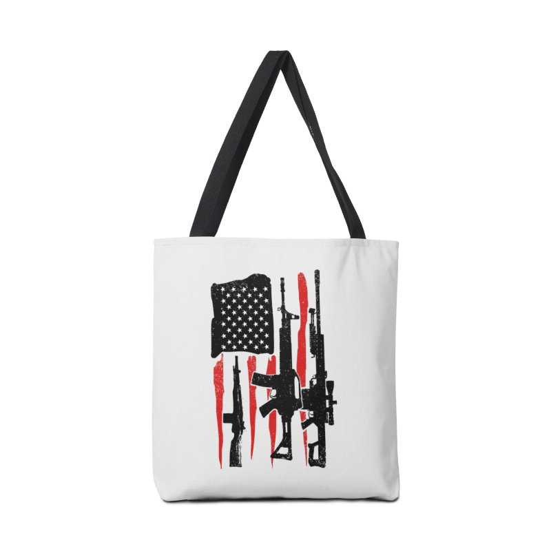 American Hero Flag Accessories Bag by barmalisiRTB