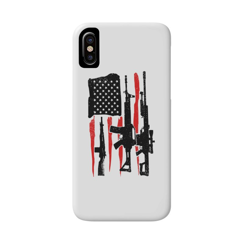 American Hero Flag Accessories Phone Case by barmalisiRTB