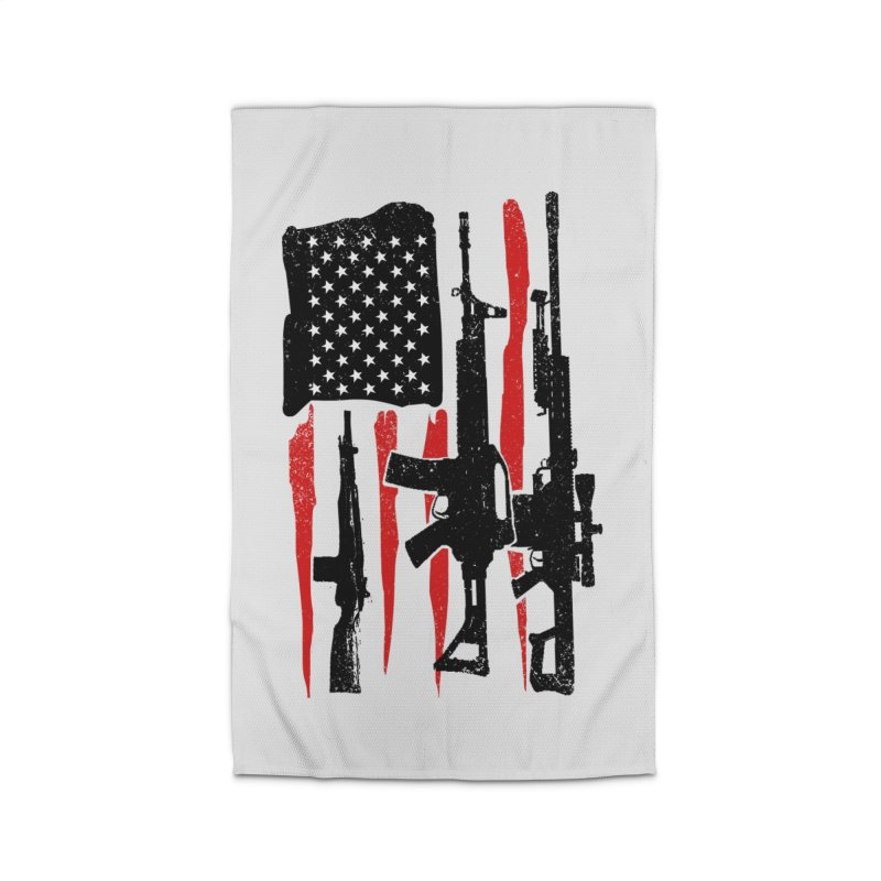 American Hero Flag Home Rug by barmalisiRTB