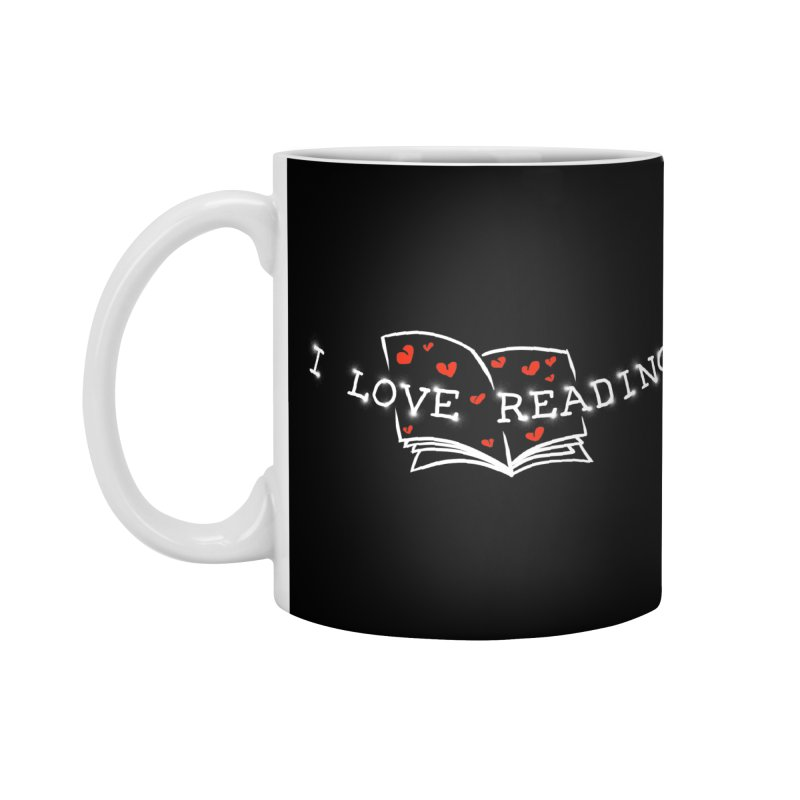 I Love Reading Accessories Mug by barmalisiRTB