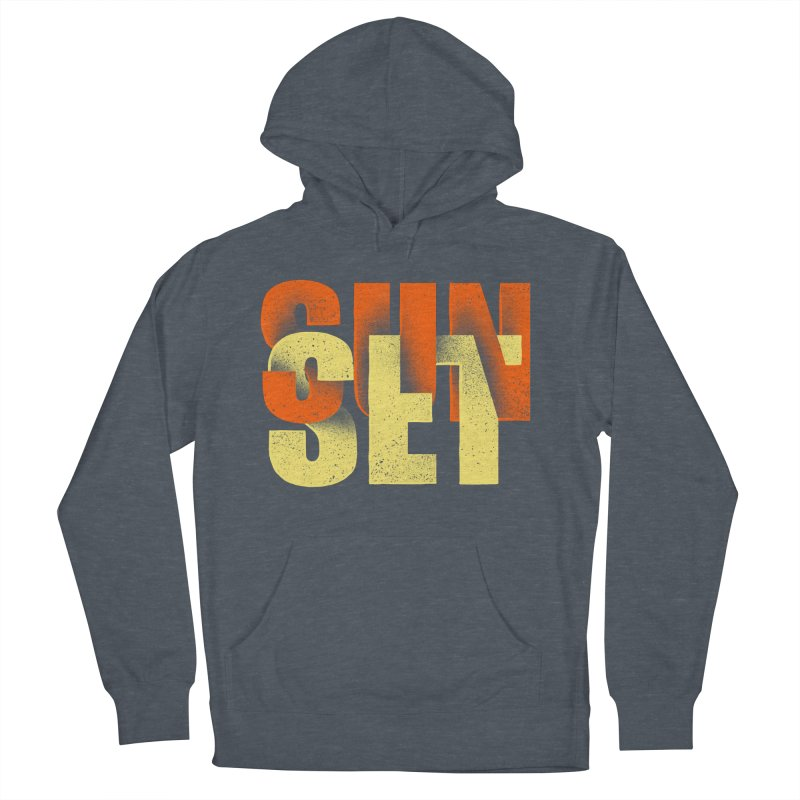 Sunset time Women's French Terry Pullover Hoody by barmalisiRTB