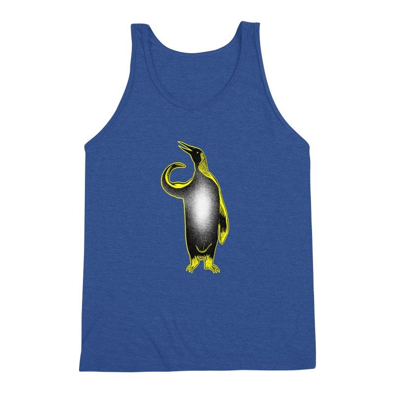 Penguin power Men's Triblend Tank by barmalisiRTB