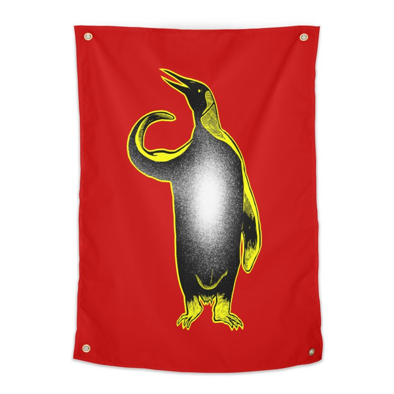 Penguin power Home Tapestry by barmalisiRTB