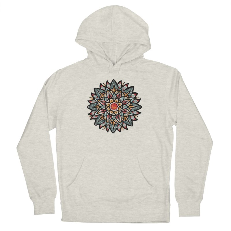 Night flower Men's French Terry Pullover Hoody by barmalisiRTB