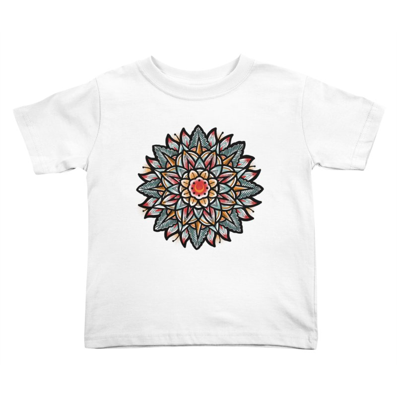 Night flower Kids Toddler T-Shirt by barmalisiRTB