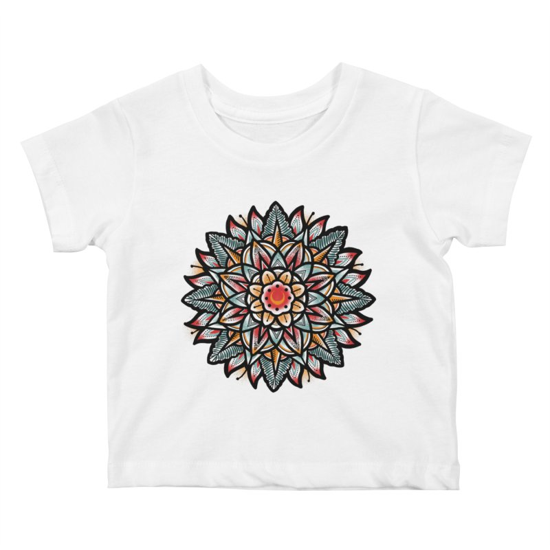 Night flower Kids Baby T-Shirt by barmalisiRTB