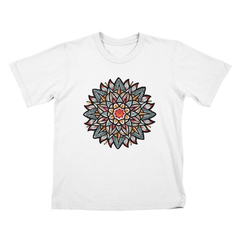 Night flower Kids T-Shirt by barmalisiRTB