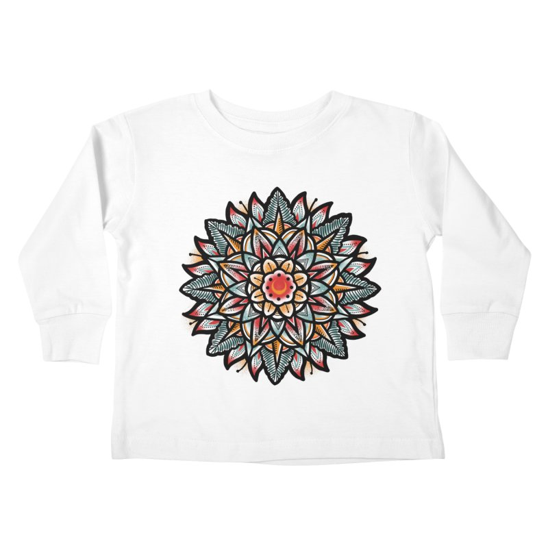 Night flower Kids Toddler Longsleeve T-Shirt by barmalisiRTB