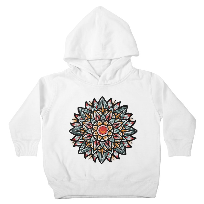 Night flower Kids Toddler Pullover Hoody by barmalisiRTB
