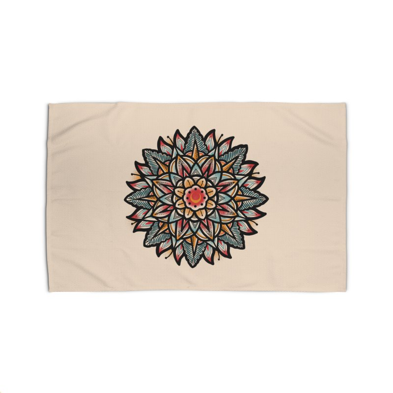 Night flower Home Rug by barmalisiRTB