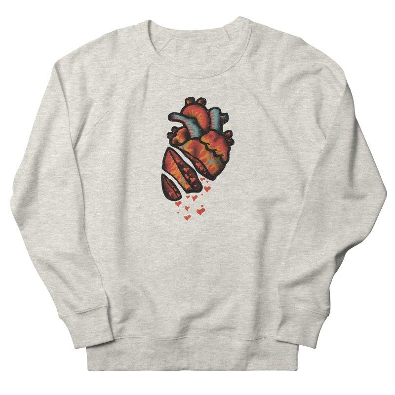Fall in love Women's French Terry Sweatshirt by barmalisiRTB