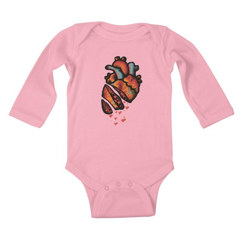 Fall in love Kids Baby Longsleeve Bodysuit by barmalisiRTB