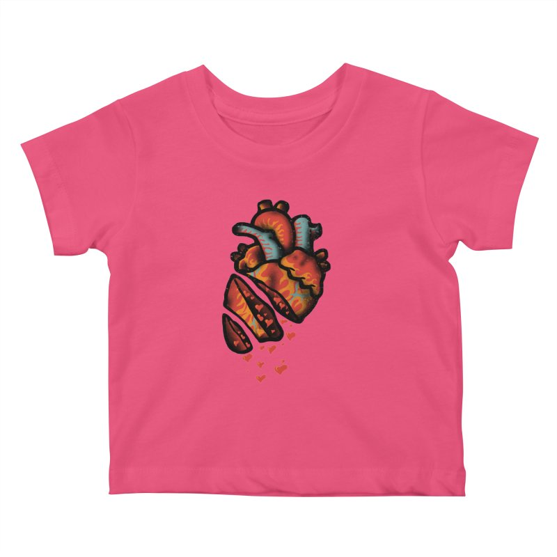 Fall in love Kids Baby T-Shirt by barmalisiRTB