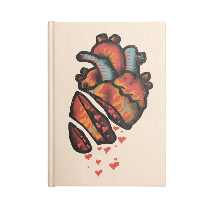 Fall in love Accessories Notebook by barmalisiRTB