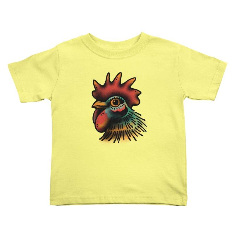 Pollo Macho Kids Toddler T-Shirt by barmalisiRTB