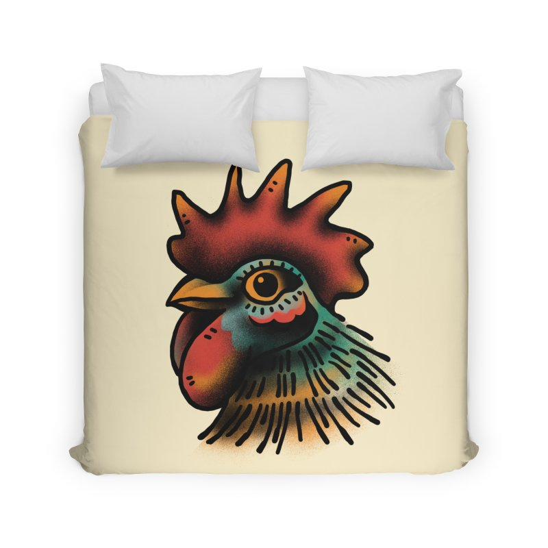 Pollo Macho Home Duvet by barmalisiRTB