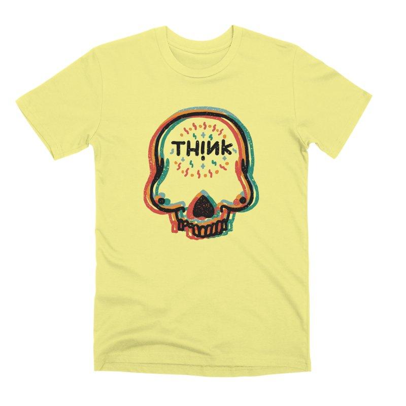 Think Men's Premium T-Shirt by barmalisiRTB