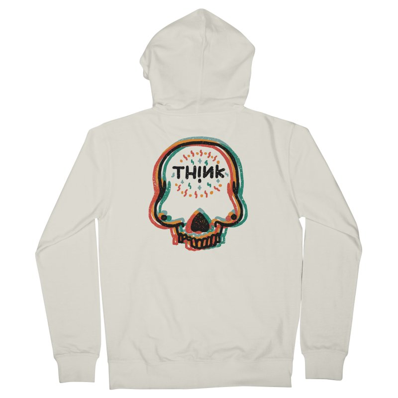 Think Women's French Terry Zip-Up Hoody by barmalisiRTB