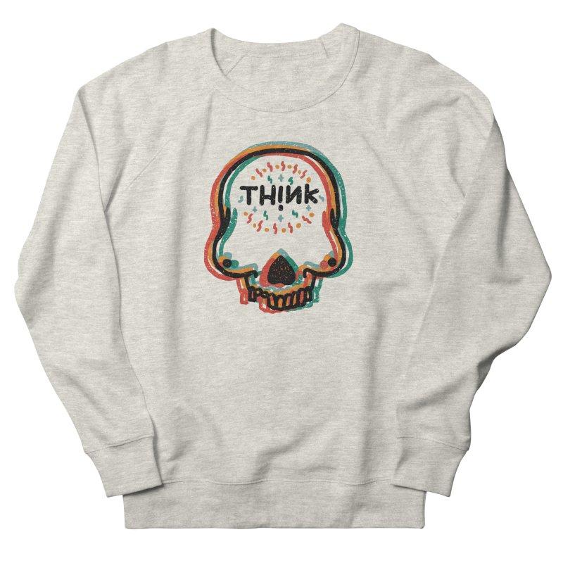 Think Women's French Terry Sweatshirt by barmalisiRTB