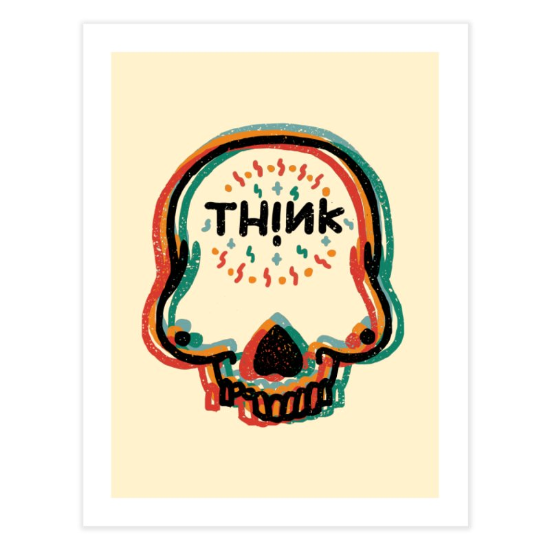 Think Home Fine Art Print by barmalisiRTB