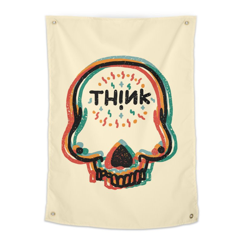 Think Home Tapestry by barmalisiRTB