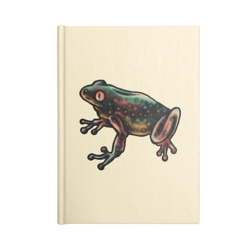 Leopard frog Accessories Notebook by barmalisiRTB