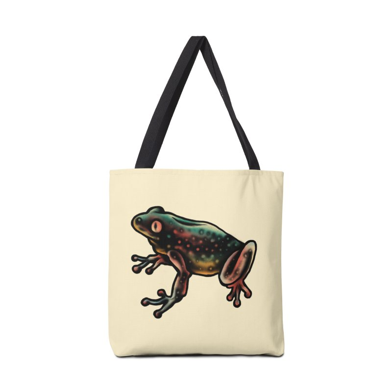 Leopard frog Accessories Bag by barmalisiRTB