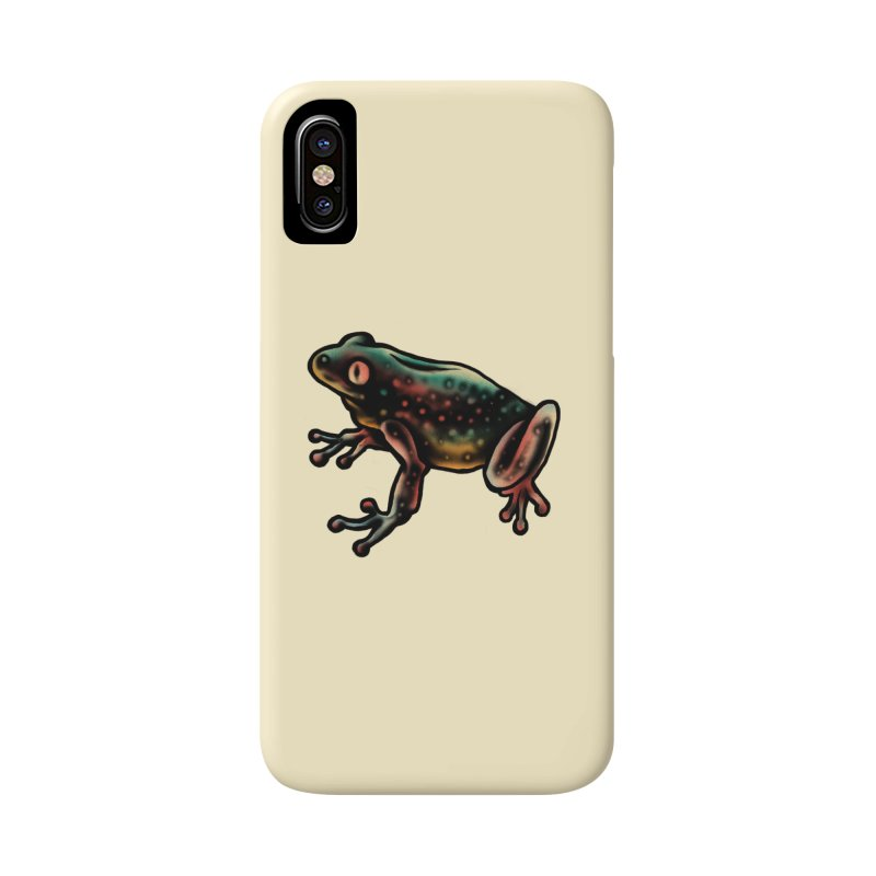 Leopard frog Accessories Phone Case by barmalisiRTB