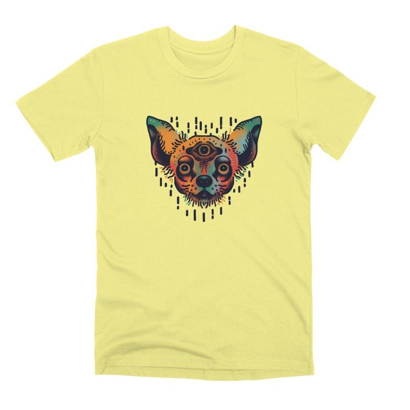 Chihuahua Men's Premium T-Shirt by barmalisiRTB