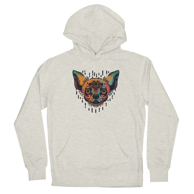 Chihuahua Men's French Terry Pullover Hoody by barmalisiRTB