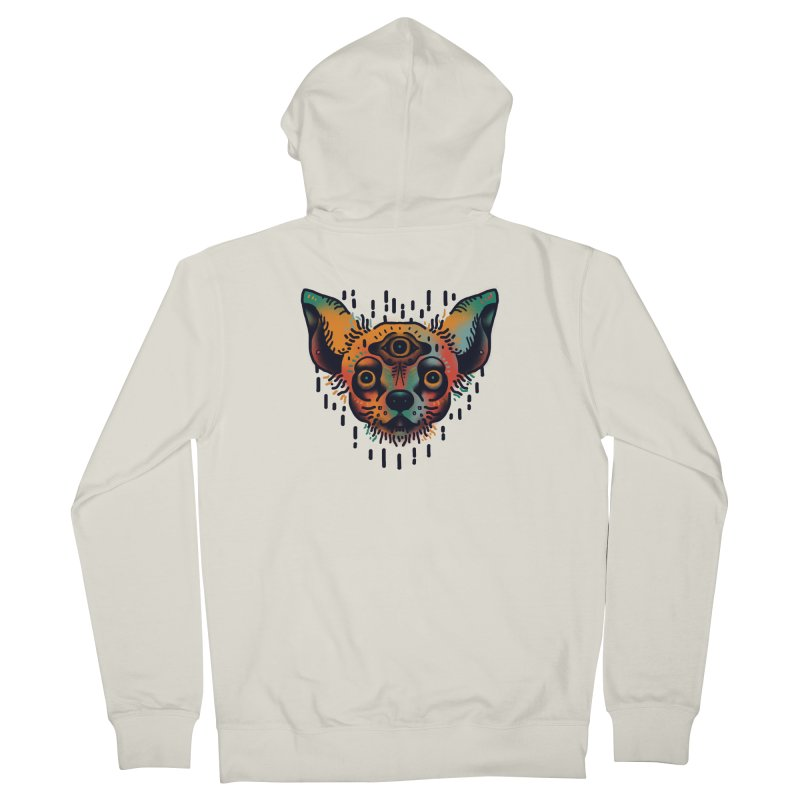 Chihuahua Women's French Terry Zip-Up Hoody by barmalisiRTB