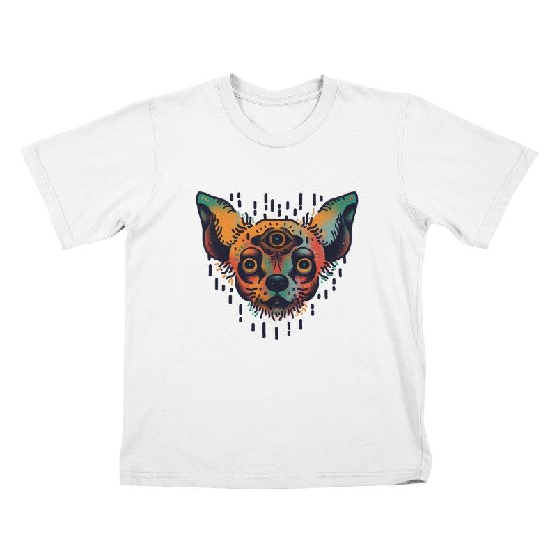 Chihuahua Kids T-Shirt by barmalisiRTB