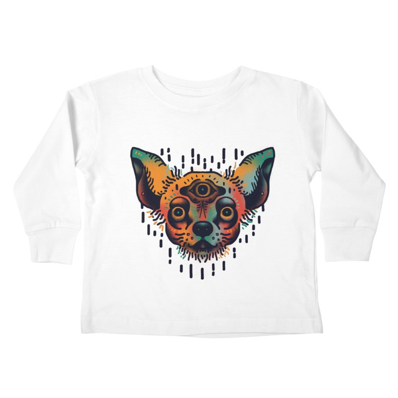 Chihuahua Kids Toddler Longsleeve T-Shirt by barmalisiRTB
