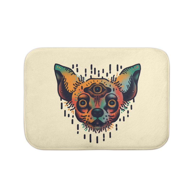 Chihuahua Home Bath Mat by barmalisiRTB