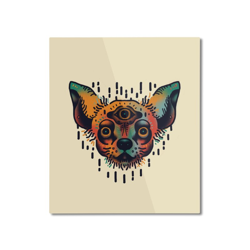 Chihuahua Home Mounted Aluminum Print by barmalisiRTB
