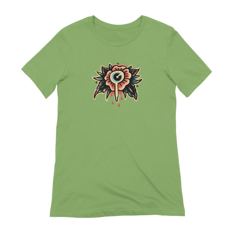 Sad flower Women's Extra Soft T-Shirt by barmalisiRTB