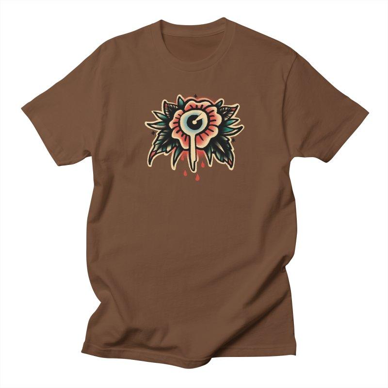 Sad flower Men's Regular T-Shirt by barmalisiRTB