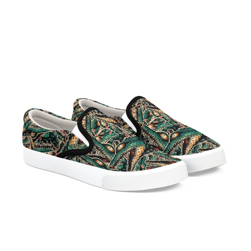 Crocodile Legend Men's Slip-On Shoes by barmalisiRTB