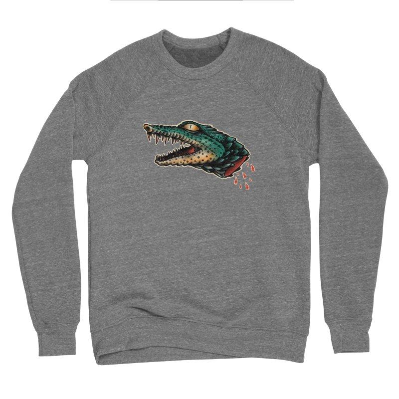 Crocodile Legend Women's Sponge Fleece Sweatshirt by barmalisiRTB