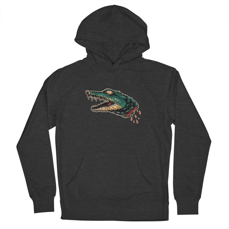 Crocodile Legend Men's French Terry Pullover Hoody by barmalisiRTB