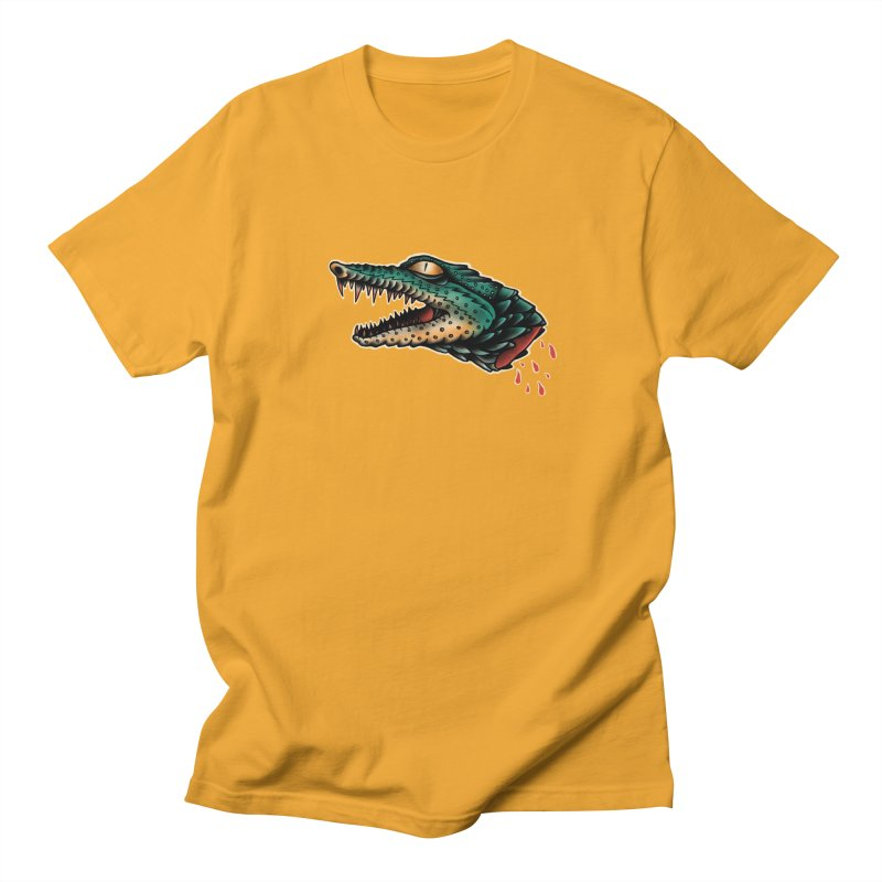 Crocodile Legend Men's T-Shirt by barmalisiRTB