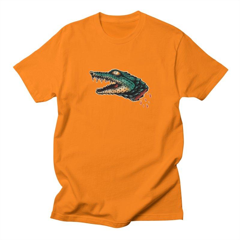 Crocodile Legend Men's T-Shirt by barmalisiRTB