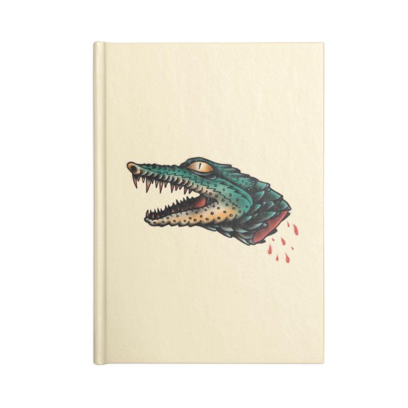 Crocodile Legend Accessories Notebook by barmalisiRTB