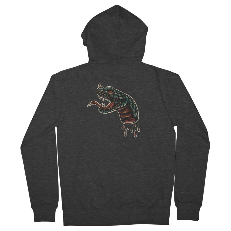 Viper Men's French Terry Zip-Up Hoody by barmalisiRTB