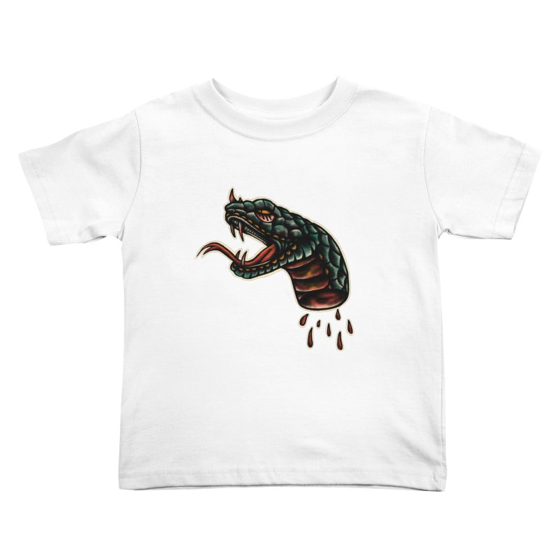 Viper head Kids Toddler T-Shirt by barmalisiRTB