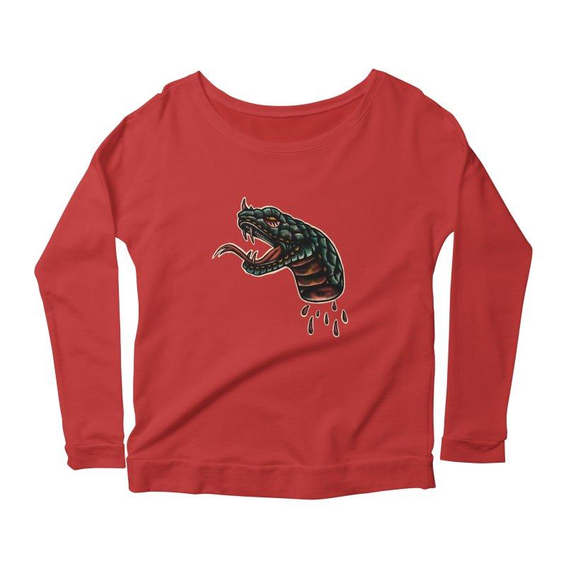 Viper Women's Scoop Neck Longsleeve T-Shirt by barmalisiRTB