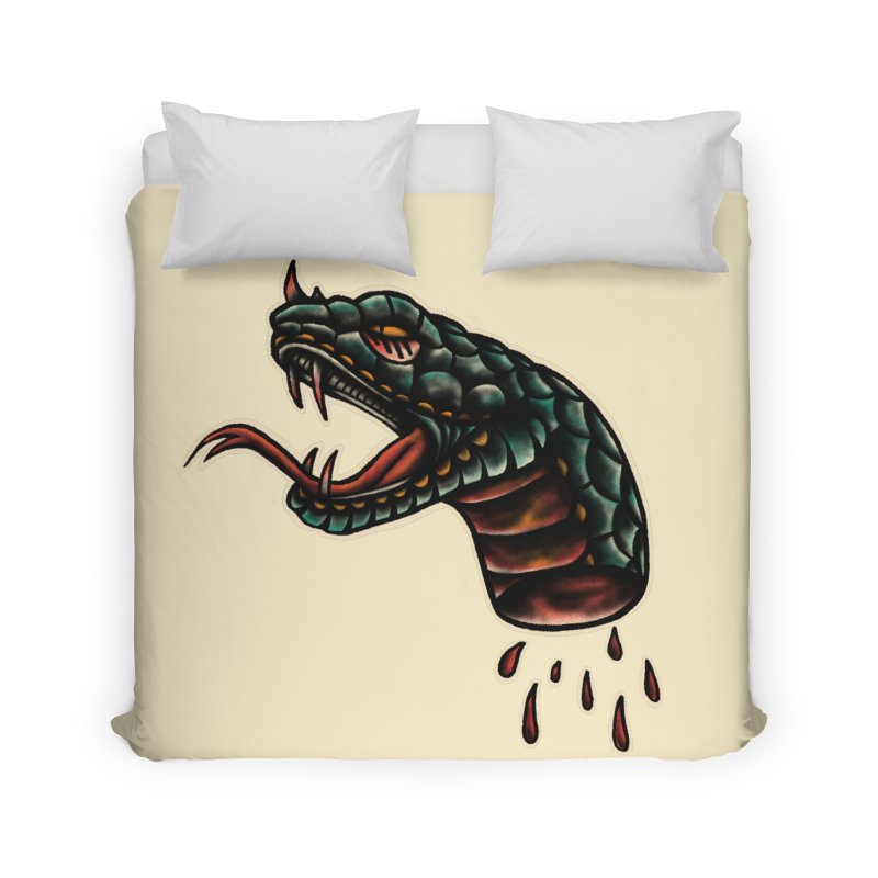 Viper head Home Duvet by barmalisiRTB