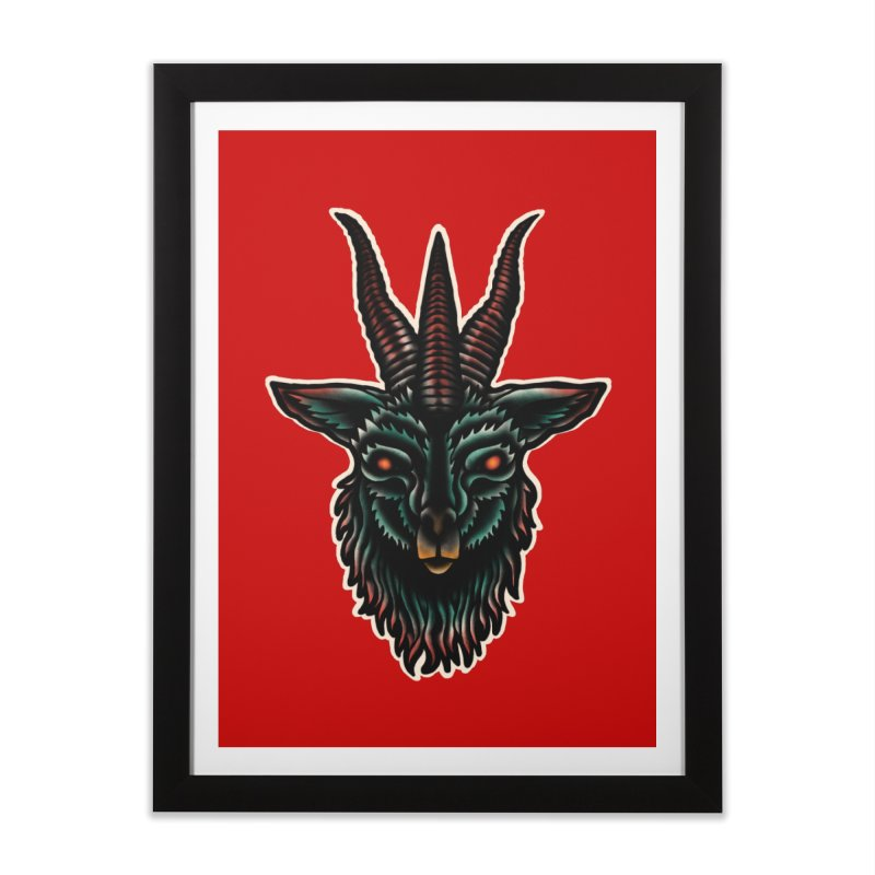 The omen Home Framed Fine Art Print by barmalisiRTB